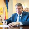 Klaus Iohannis isi lanseaza miercuri noua carte