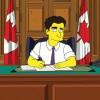 Premierul Canadei a ajuns la Familia Simpson