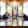 Iohannis, atac la PSD dupa discutia cu fostii detinuti politic din delegatia venita la consultari