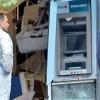 Bancomat aruncat in aer cu un dispozitiv militar