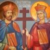 Sfintii Imparati Constantin si mama sa, Elena