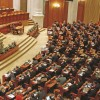 Motiunea de cenzura, prezentata parlamentarilor in sedinta comuna