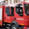 Barbat dus la spital cu arsuri, in urma unei explozii intr-un bloc din Roman