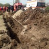 Muncitor prins sub un mal de pamant in Bucuresti