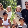 Angelina si Brad nu isi puteau controla copiii: Anarhie si haos