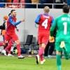 Astra a invins campioana Cehiei, Steaua a remizat cu Zurich