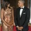 Michelle Obama, regina balului