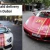 In Dubai, burgerii McDonald's sunt plimbati cu Lamborghini