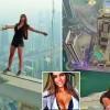 Modelul rus care s-a jucat cu moartea in Dubai, data in judecata de proprietarii turnului