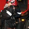 Incendiu puternic intr-un depozit din zona Valea Cascadelor