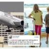A interzis accesul in avion unei fete de 10 ani pentru ca purta colanti