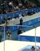 Gimnast accidentat in timpul Europenelor de la Cluj