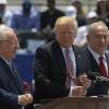 Trump se vrea porumbelul pacii in Israel