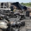 148 de persoane ucise de explozia unei cisterne