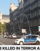 Un singur roman ranit la Barcelona a ramas internat