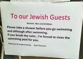 In Elvetia, evreii sunt trimisi la dusuri