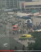 Atac intr-un oras finlandez: suspect impuscat/Primele imagini de la fata locului