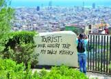 Europa, in razboi cu turistii