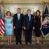 Cuplul Iohannis, alaturi de presedintele Trump si Prima Doamna