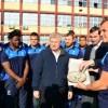 """Stejarii"" i-au antrenat pe tinerii rugbysti din sectorul 1"