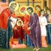 Intrarea Maicii Domnului in Biserica, praznuita marti