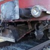 TIR lovit de un tren Regio, in judetul Harghita