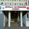 Incendiu intr-o cladire adiacenta Spitalului de pediatrie Pitesti