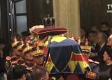 Funeralii Regele Mihai. A inceput slujba de la Patriarhie