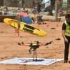 Premiera, salvati din mare cu drona