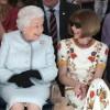 Regina Elisabeta a II-a la Saptamana Modei