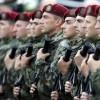 Soldatii sarbi, trimisi la facut copii