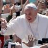 """Papa Francisc a """"facut cinste"""" de Sf. Gheorghe"""