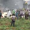 Un avion cu peste 100 de oameni la bord s-a prabusit in Cuba. 3 supravietuitori (VIDEO)