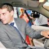 Fostul princepe Nicolae si-a busit  masina in Capitala
