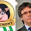 Puigdemont se lupta cu jambonul