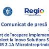 Anunț de Începere implementare proiect la Inovo Solutions SRL POR 2.1A MicroIntrerpinderi