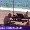 Sebastian Ghita, pozat la plaja