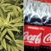 Coca-Cola trece pe canabis