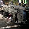 Masina facuta zob. Doi tineri au murit intr-un cumplit accident, la Arad