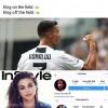 Ronaldo a driblat-o pe Selena Gomez