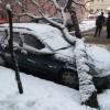 Urmarile iernii: locuinte in bezna, copaci cazutisub greutatea zapezii