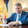 Presedintele Iohannis, a doua scrisoare la rand catre premierul Dancila