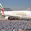 """Emirates """"ingroapa"""" cel mai mare avion de pasageri"""
