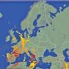 Europa, lovita de peste 175.000 de fulgere in 2 zile