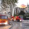 Incendiul de la Notre-Dame, stins dupa 9 ore de lupta cu focul