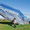 Balena din plastic reciclat