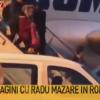 Cadre cu Radu Mazare coborand din aeronava care l-a adus in Romania