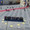 Summit. Liderii europeni, poza de familie si baie de multime in Piata Mare din Sibiu (VIDEO)