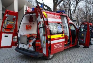 Elev dus la spital, după ce a căzut de la etajul unui liceu din Constanța