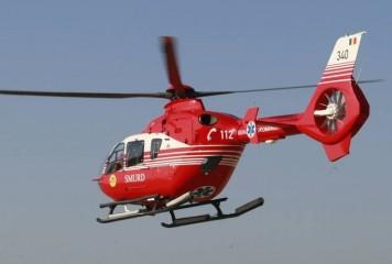 Turist strain accidentat, preluat cu elicopterul SMURD din masivul Fagaras